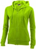 31225682 Rozpinany sweter damski z kapturem Utah