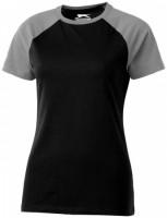 33018993f T-shirt damski Backspin L Female