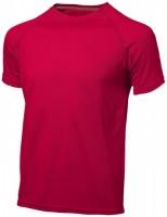 33019253f Męski T-shirt Serve z krótkim rękawem z tkaniny Cool Fit odprowadzającej wilgoć L Male