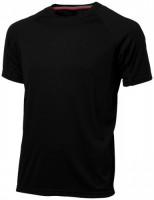 33019992f Męski T-shirt Serve z krótkim rękawem z tkaniny Cool Fit odprowadzającej wilgoć M Male