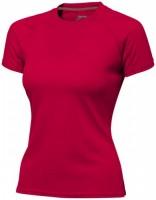 33020253f Damski T-shirt Serve z krótkim rękawem z tkaniny Cool Fit odprowadzającej wilgoć L Female