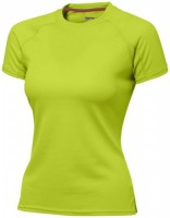 33020683f Damski T-shirt Serve z krótkim rękawem z tkaniny Cool Fit odprowadzającej wilgoć L Female