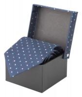 3012c-06A krawat w prezentowym pudełku