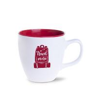 M_467-czerwony Americano Small Pure kubek MAT