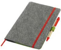 806-062 organizer z filc zapinany na kolorową gumkę z długopisem 806-062 organizer z filc zapinany na kolorową gumkę z długopisem