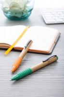 942880c-03 długopis bambusowy z kolorową gumką
