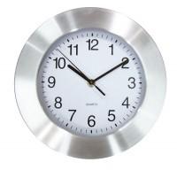 AP806809c zegar ścienny z aluminiową obwódką