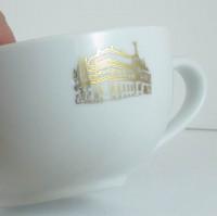 C_216_03 200ml OLE biały 200ml Cappuccino filiżanka