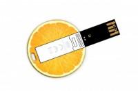 USB-CC-okragla Pamięć USB okrągła o grubości karty kredytowej