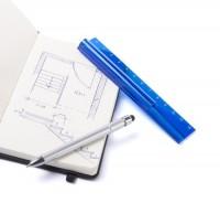 AP741516c linijka z długopisem touch