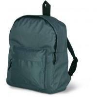 2364k plecak klasyczny z zewnętrzna kieszenią