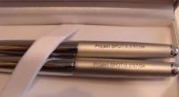 SIGMA Z1 Zestaw SIGMA srebrne pióro i długopis w etui