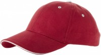 38656250f 6-panelowa czapka typu sandwich Brent Unisex