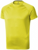 39010140f Męski T-shirt Niagara z krótkim rękawem z tkaniny Cool Fit odprowadzającej wilgoć XS Male