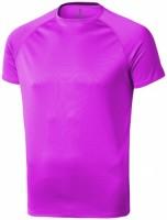 39010201f Męski T-shirt Niagara z krótkim rękawem z tkaniny Cool Fit odprowadzającej wilgoć S Male