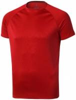 39010252f Męski T-shirt Niagara z krótkim rękawem z tkaniny Cool Fit odprowadzającej wilgoć M Male
