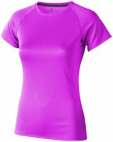 39011200f Damski T-shirt Niagara z krótkim rękawem z tkaniny Cool Fit odprowadzającej wilgoć XS Female