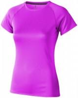 39011201f Damski T-shirt Niagara z krótkim rękawem z tkaniny Cool Fit odprowadzającej wilgoć S Female