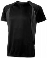 39015995f Męski T-shirt Quebec z krótkim rękawem z tkaniny Cool Fit odprowadzającej wilgoć XXL Male