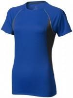 39016444f Damski T-shirt Quebec z krótkim rękawem z tkaniny Cool Fit odprowadzającej wilgoć XL Female