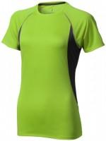 39016685f Damski T-shirt Quebec z krótkim rękawem z tkaniny Cool Fit odprowadzającej wilgoć XXL Female