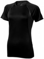 39016994f Damski T-shirt Quebec z krótkim rękawem z tkaniny Cool Fit odprowadzającej wilgoć XL Female