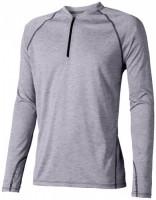 39023940f Męski T-shirt Quadra z długim rękawem z tkaniny Cool Fit odprowadzającej wilgoć XS Male