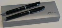 OMEGA Z1 Zestaw OMEGA srebrne pióro i długopis w etui