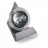 1373r-18 Zegar biurkowy, obrotowy 360º
