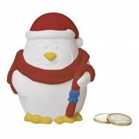 1397x-06 Skarbonka - pingwin z farbkami