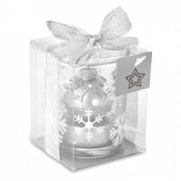 1428x-14 Szklany świecznik tea light