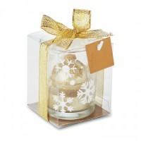 1428x-98 Szklany świecznik tea light