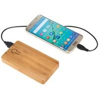 12367600fn Powerbank PB-5000 z bambusa