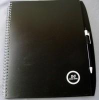 3619i-03 70-kartkowy blok A4, długopis