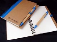 3775i-04 Notes z recyklingi ~A5 z długopisem