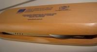 1701k-40 Długopis i ołówek w drewnianym etui