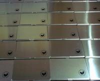 2225k-17 Aluminiowe etui na wizytówki