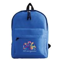 2364k-37 Plecak z zewnętrzną kieszenią