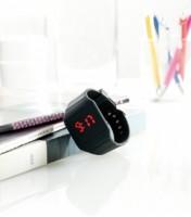 AP741167c Silikonowy zegarek z wyświetlaczem LED