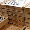 2941k-40 4 gry w drewnianym pudełku