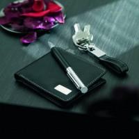 7109k-03 Portfel, długopis, breloczek w zestawie