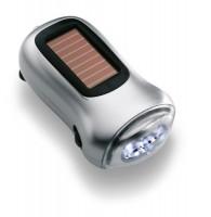 7130k-16 Latarka LED na dynamo i solar