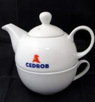 7343m-06 Zestaw do herbaty dzbanek i filiżanka