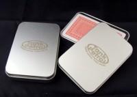 7529m-16 Karty do gry, metalowe pudełko
