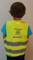 7602m-08 Kamizelka odblask dla dzieci