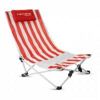 7676m-05 Krzesło plażowe z zagłówkiem