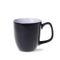 M_473-czarny Americano Small DUO porcelana CZARNY