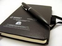 8109m-03 Notatnik formatu A6 z długopis