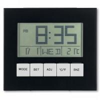 8527m-03 Zegar z panelem słonecznym