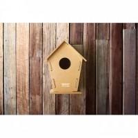 8532m-40 Drewniana budka dla ptaków